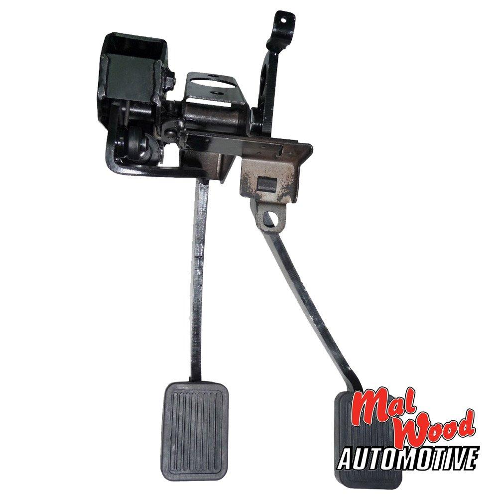 holden torana lc lj under dash hydraulic clutch pedal assembly mal rh malwoodauto com au Manual Foot Pedals Pedal Power 2 Plus Manual